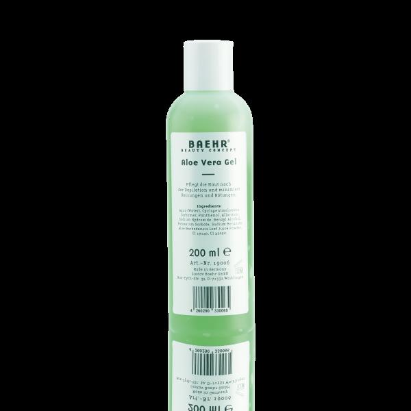 BAEHR BEAUTY CONCEPT Aloe Vera Gel Flasche 200 ml