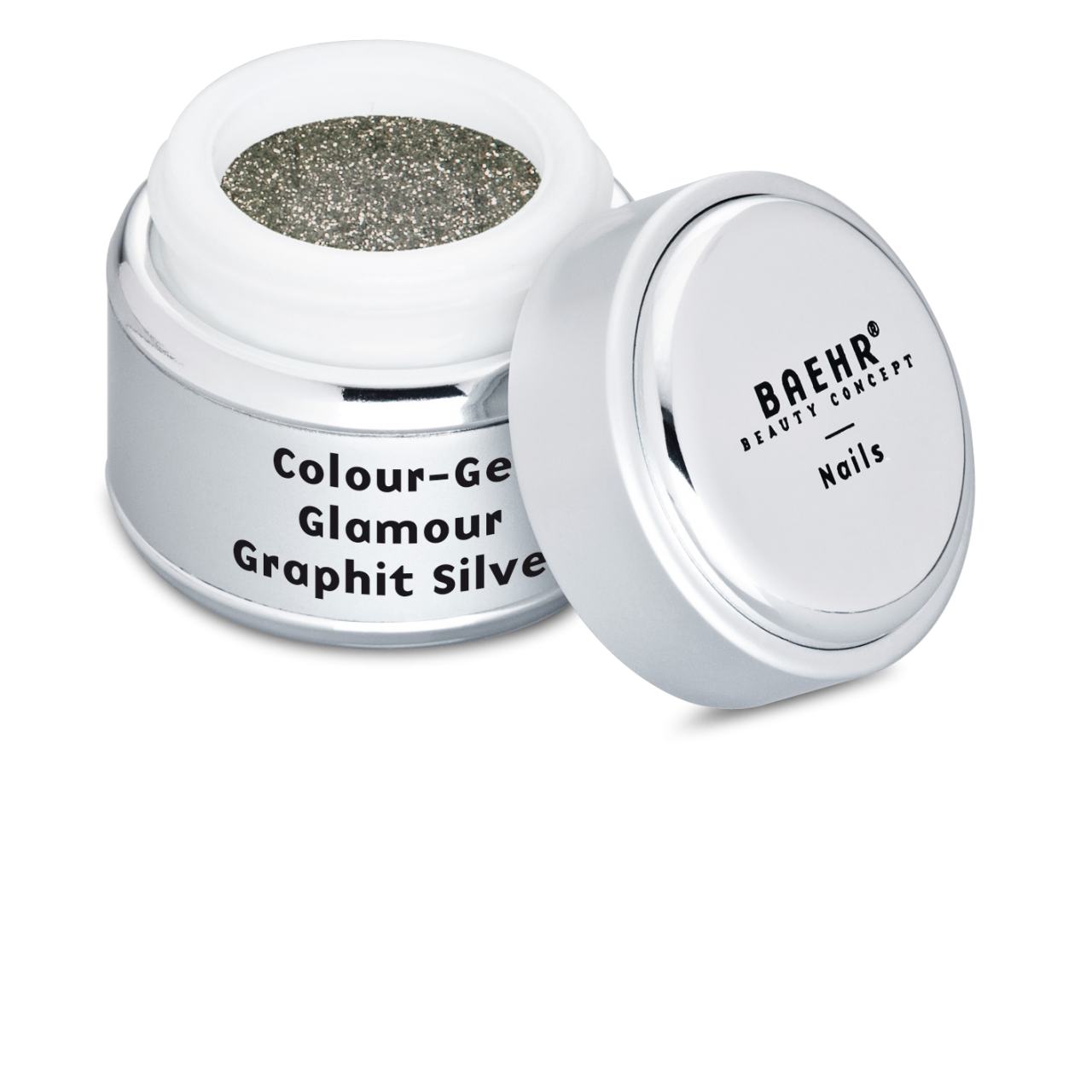 Colour-Gel Glamour Graphit Silver 5 ml