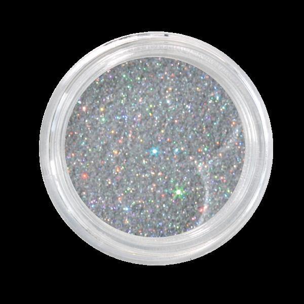 Nail Art Glitterpulver silber