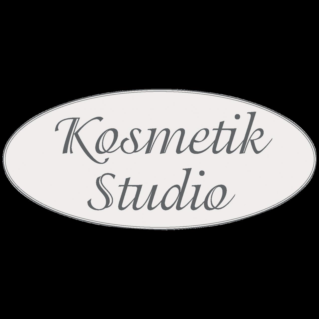Hinweisschild Kosmetikstudio 47 x 21 cm oval