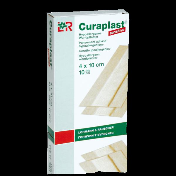 Curaplast sensitive 4 cm 1 Pack (10 Stk.) 4 cm x 10 cm