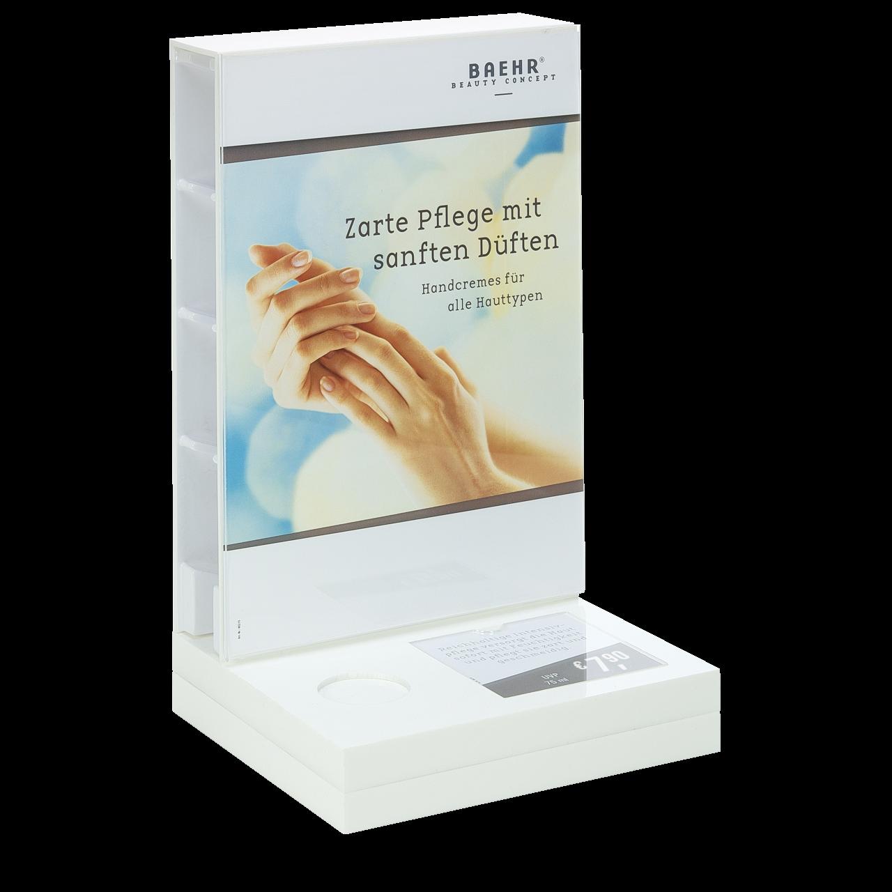 Display-Set für Handcremes, unbestückt