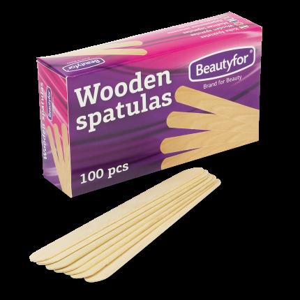 Spatel / Holz (Packung 100 St.) 1 Pack (100 Stk.)