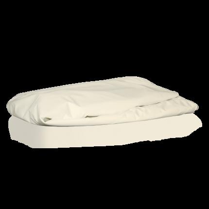 Spannschonbezug Climate Fine, cremweiß, ölbeständig, 100x220cm