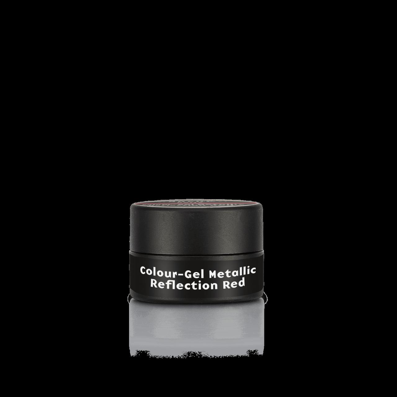 Colour-Gel Metallic Reflection Red 5 ml