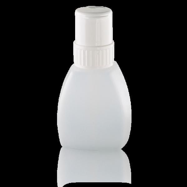 Flüssigkeitsspender Kunststoff 250ml leer, mit Sicherheits-Drehverschluss