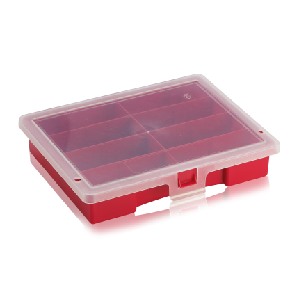 Sortimentsbox leer mit 8 Fächer