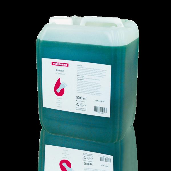 Fußbad mit Teebaumöl 5000 ml