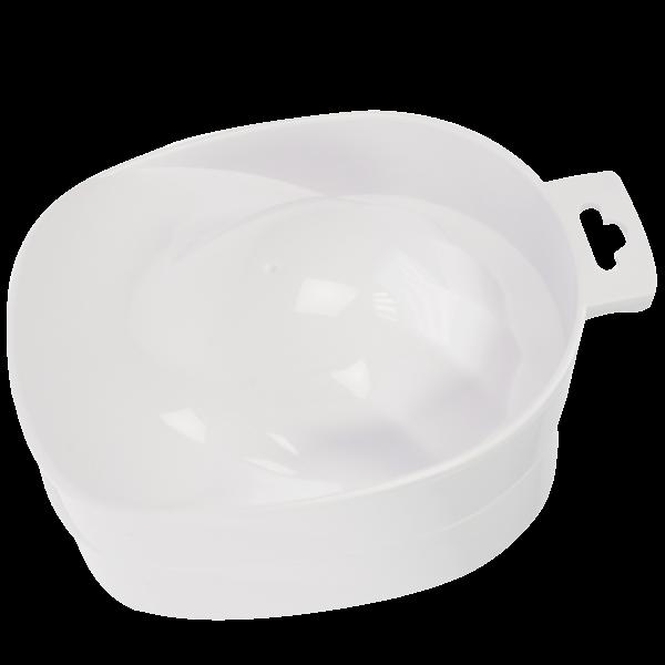 Handbad/Maniküreschale weiss 15x12cm