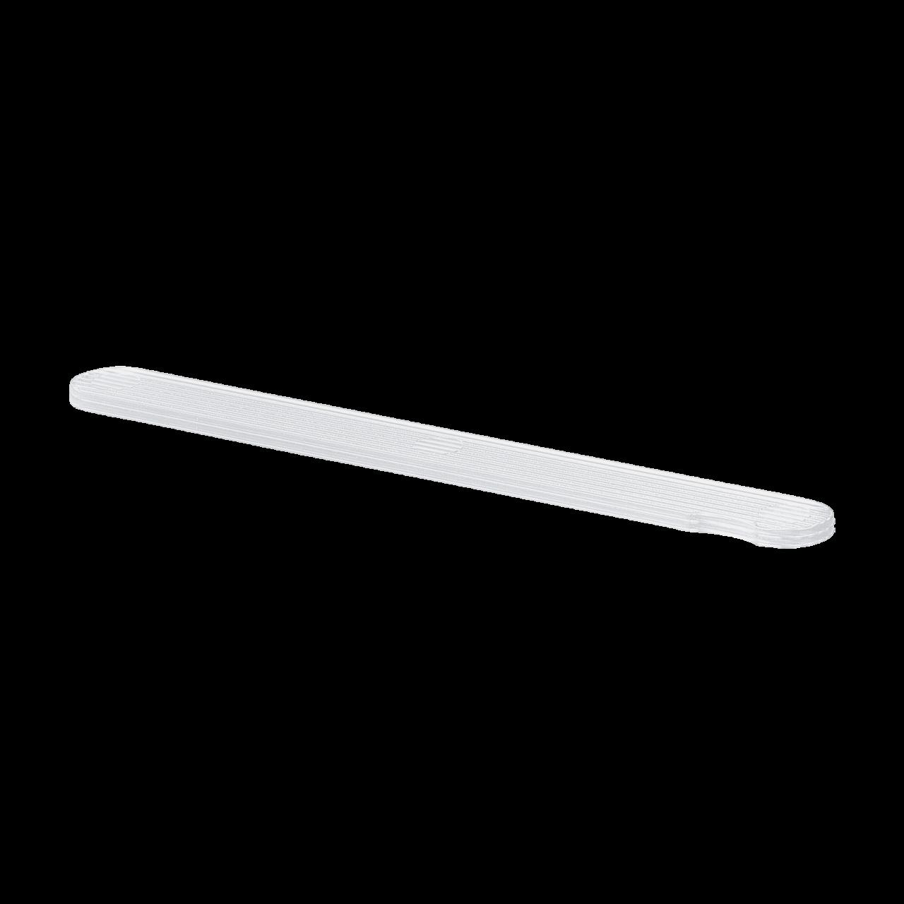 Kunststoff-Profifeilen, weiß ohne Feilblätter, 10 Stck.