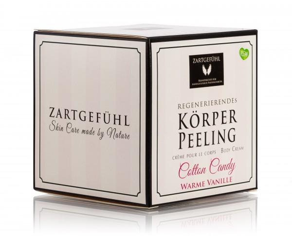 "ZARTGEFÜHL Salz-Körperpeeling ""Cotton Candy"" 200 ml"