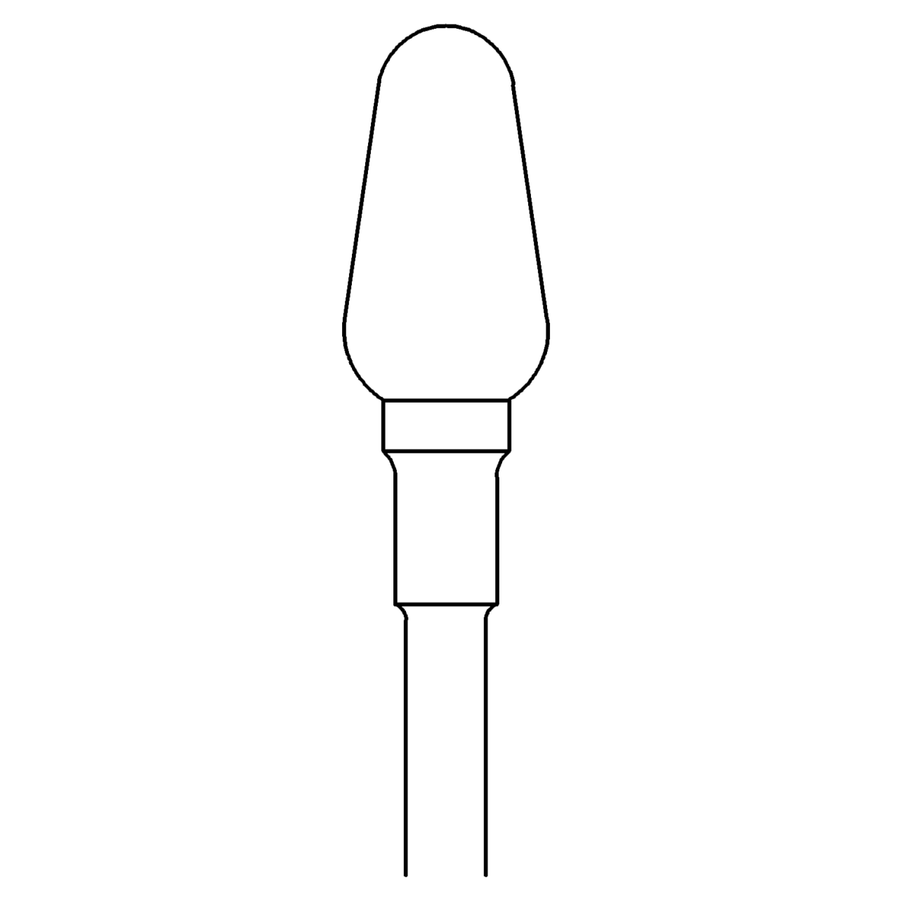 Mittelgrober Hartmetallfräser 424X/060