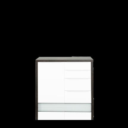 Rahmen 108 für 2 Unterschränke zu Sideboard, Farbe oak tabak