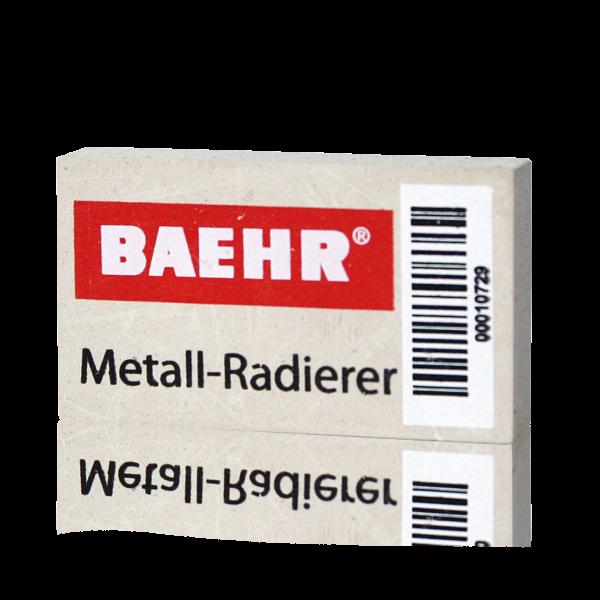 Metall-Radierer, 5 x 2,9 x 1 cm