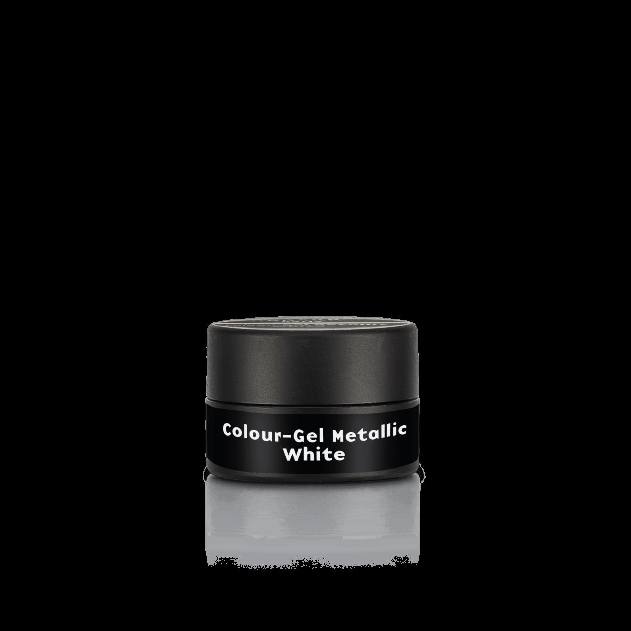 Colour-Gel Metallic White 5 ml