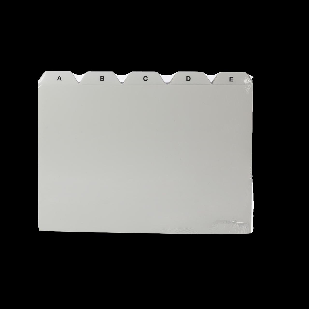 Register A-Z für DIN A5 Karteikarten