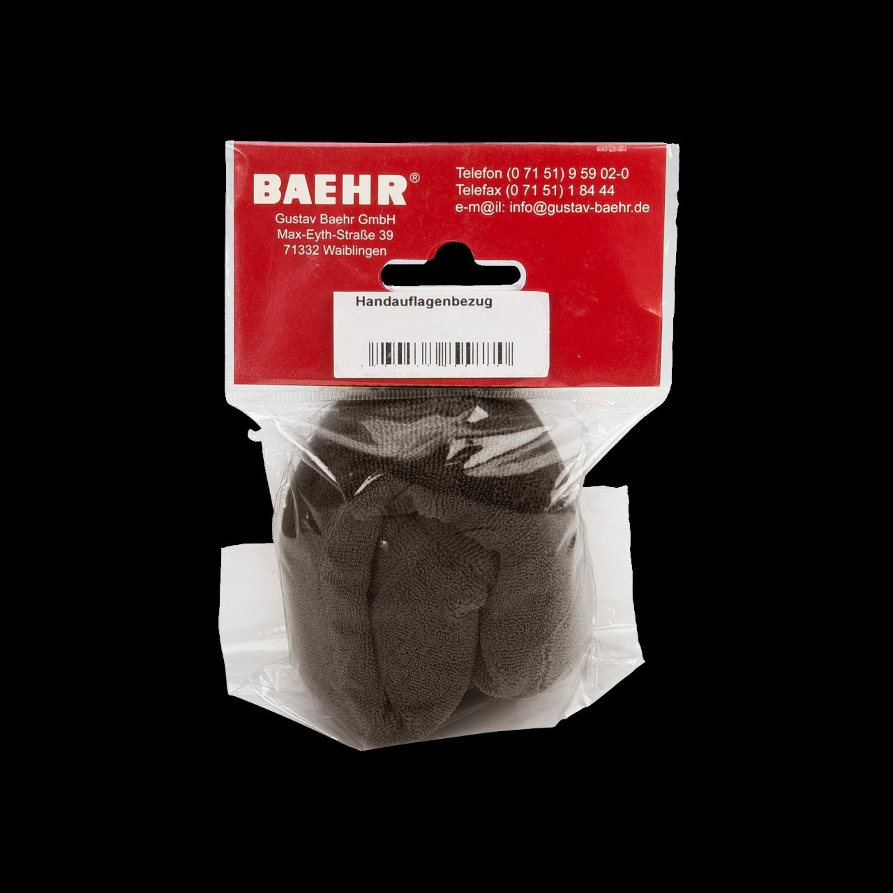 Bezug für Nackenunterlage/Handauflage (zu Art. 16002), ebenholz