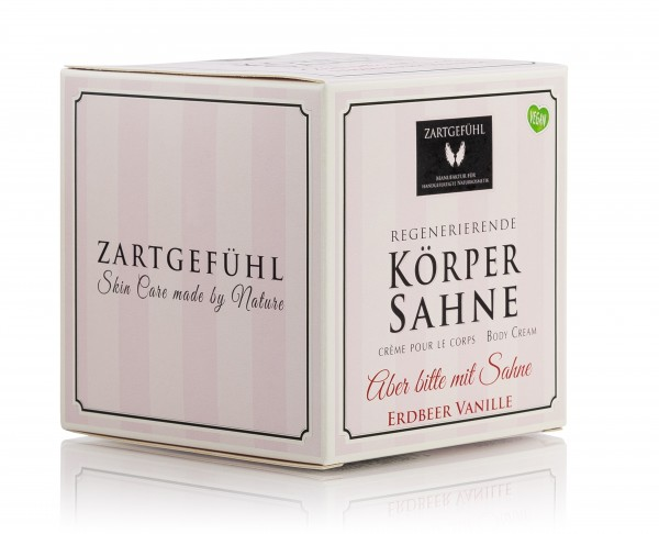 """ZARTGEFÜHL Körpersahne """"Aber bitte mit Sahne"""" 200 ml"""