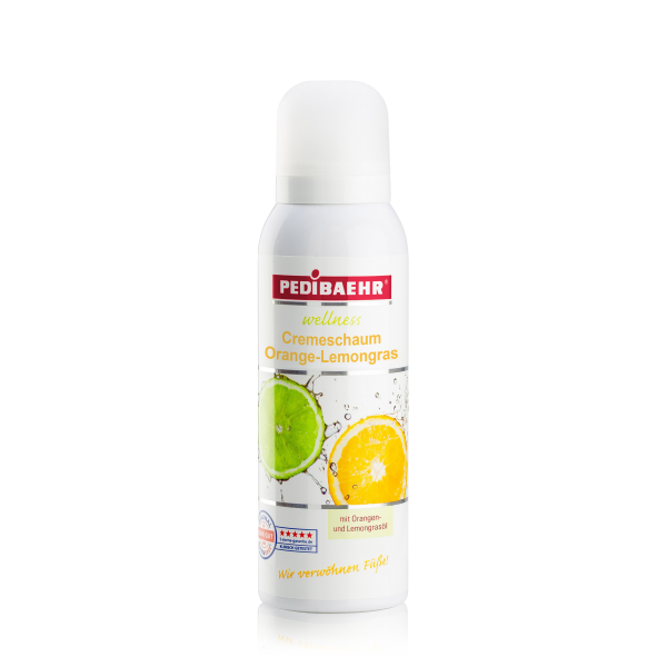Cremeschaum Orange-Lemongrass 125 ml