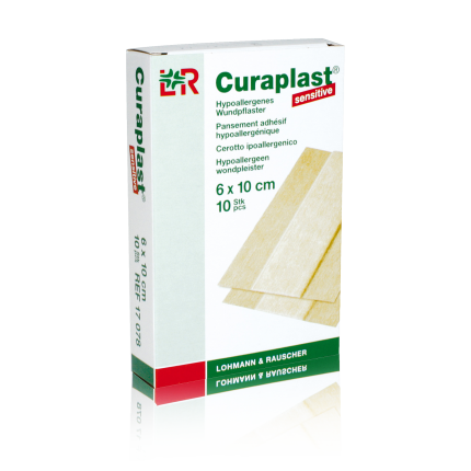 Curaplast sensitive 6 cm 1 Pack (10 Stk.) 6 cm x 10 cm
