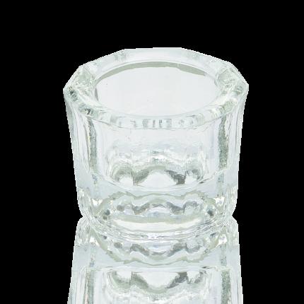 Dappenglas zu Anmischen, klar