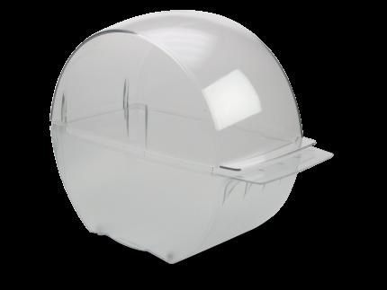 Spenderbox für Zellstoff-Tupfer- Rollen
