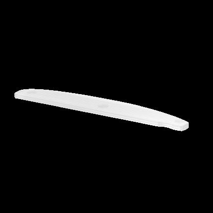 Kunststoff-Bowfeile, weiß ohne Feilblätter, 10 Stck