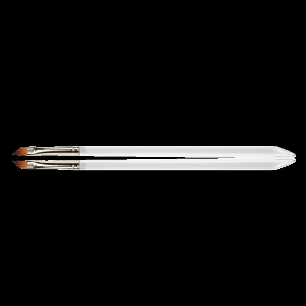 Gel-Modellage-Pinsel Gr.6 schräg/ flach