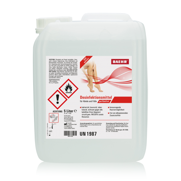 Desinfektionsmittel für Hände und Füße 5000 ml