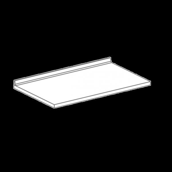 Arbeitsplatte weiß für Hygienezeile 3 x 60 cm