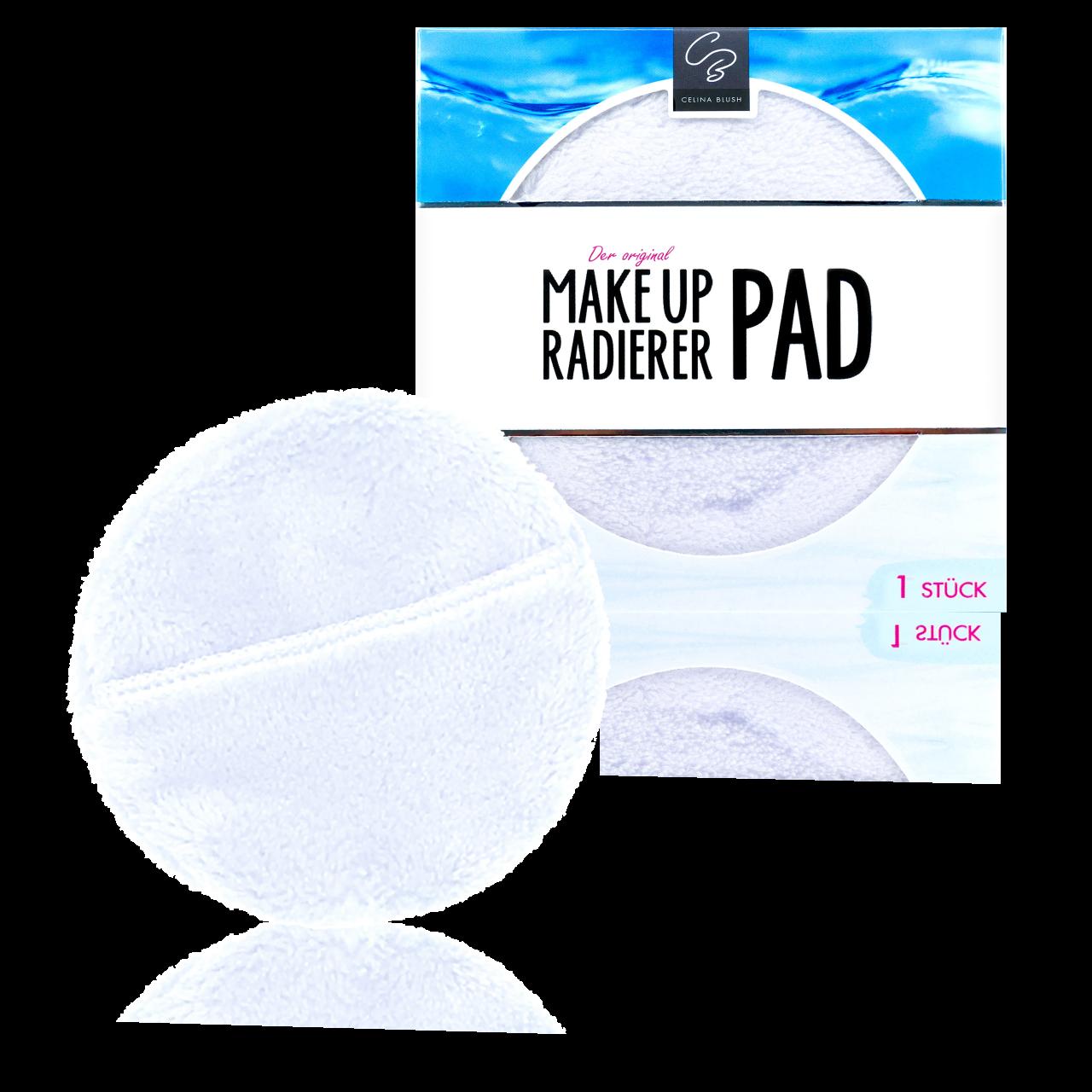 MakeUp Radierer Pads weiß Durchmesser 9cm, 5 Stück