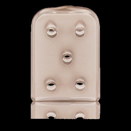 Schutzkappen für Instrumente Gr. 2 100 Stück 1 Pack (100 Stk.), braun