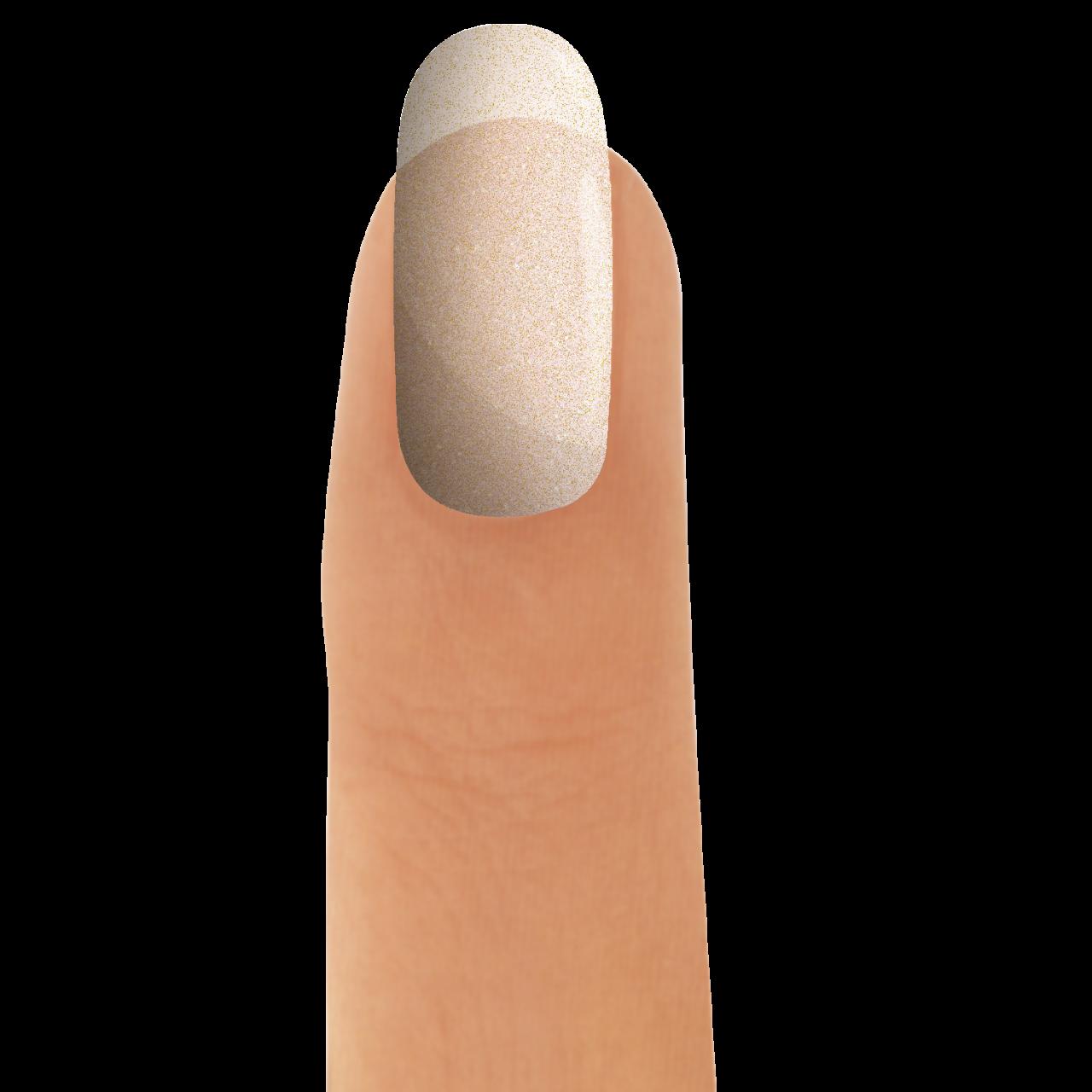 3in1 UV-Nagellack Glitter Prosecco 12 ml