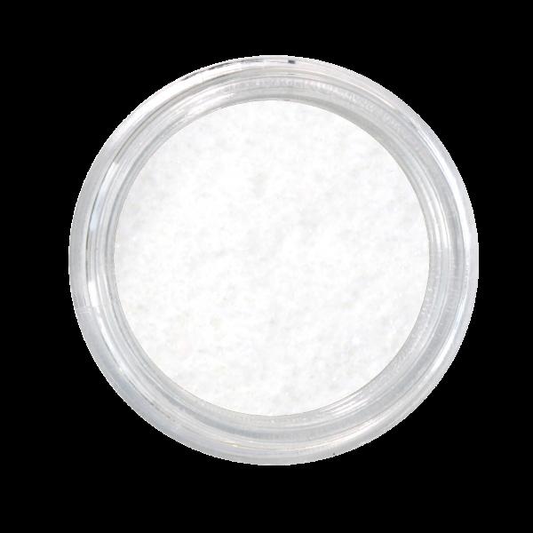 Nail Art Glitterpulver weiß