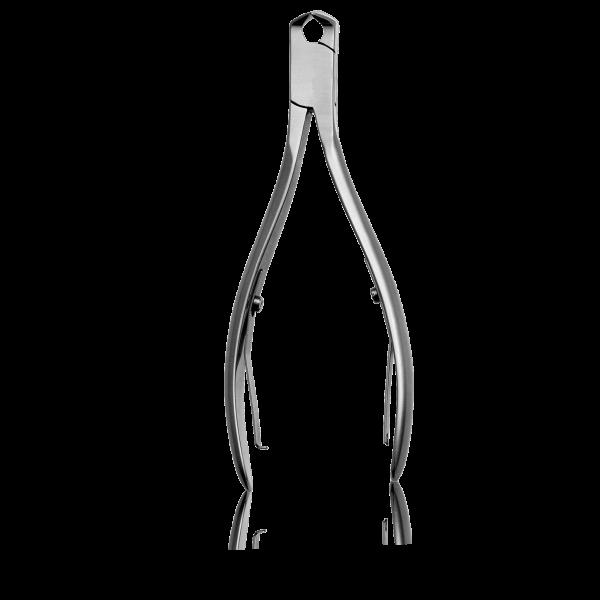 ECO Kopfschneider mattiert Schneide 15 mm / 11 cm lang
