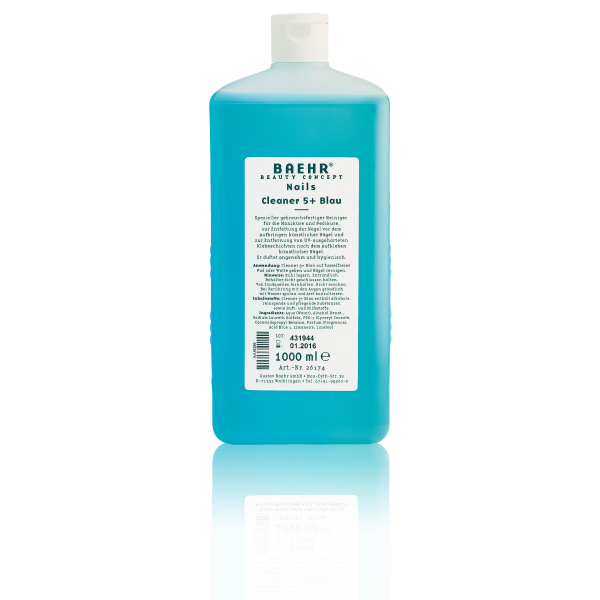 BAEHR BEAUTY CONCEPT - NAILS Cleaner 5+ Blau 1000 ml