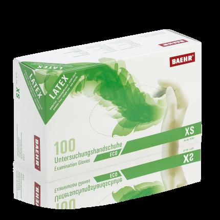 Handschuhe Latex ECO XS 1 Pack (100 Stk.)