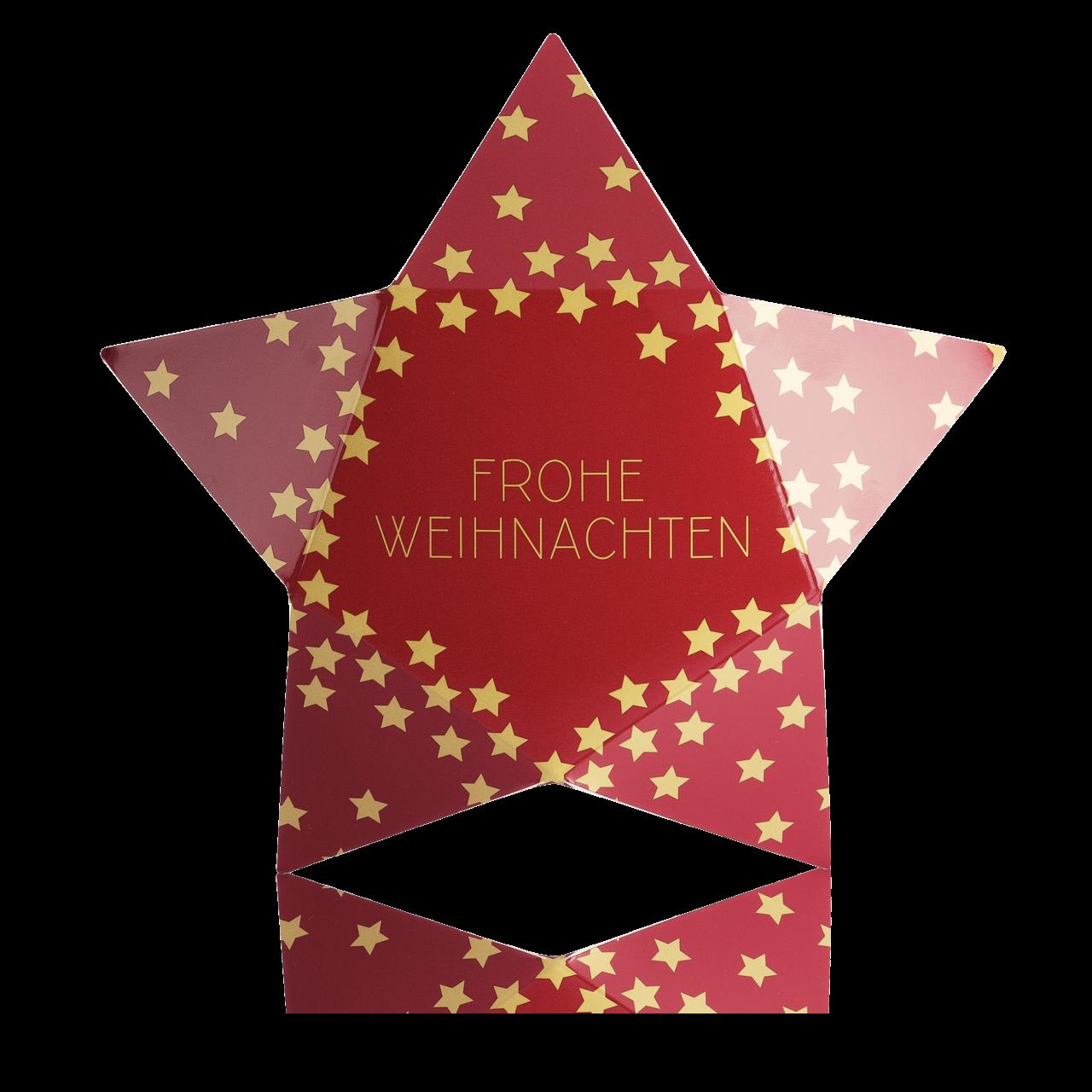 """Geschenkverpackung Weihnachtsstern """"BAEHR BEAUTY CONCEPT"""""""