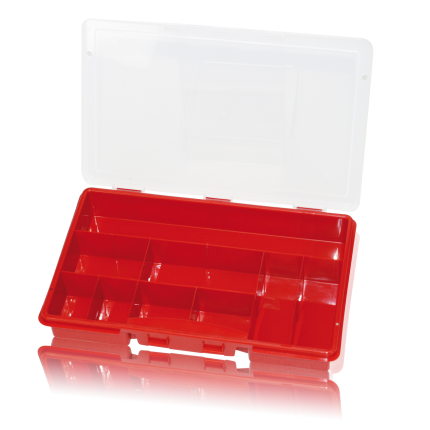 Sortimentsbox leer mit 9 Fächer
