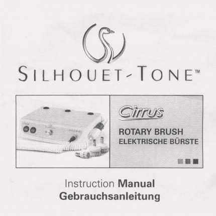 Bedienungsanl. dt Rotary Brush Cirrus