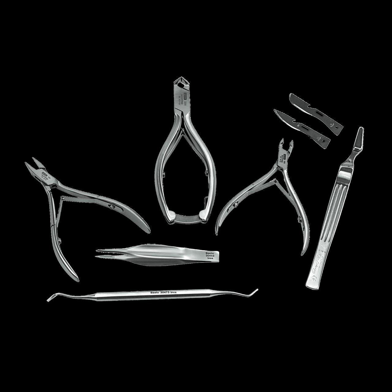 Basis-Instrumentensatz Edelstahl